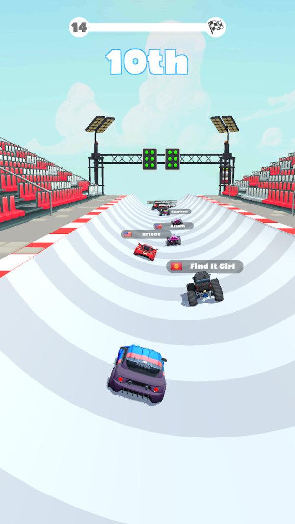 捷径赛车破解版截图