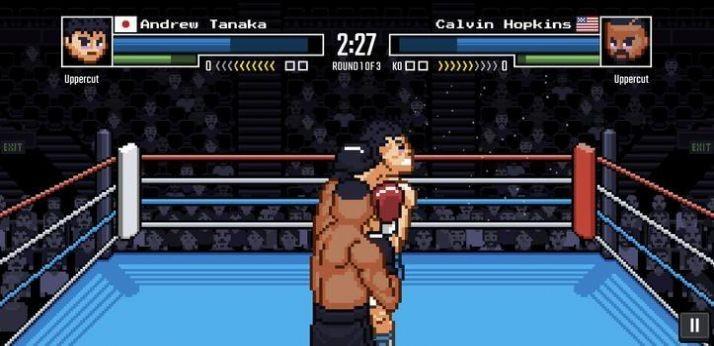 斗士像素拳击截图