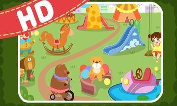 儿童动物找茬游戏截图