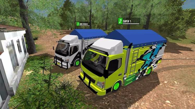 在线卡车模拟截图
