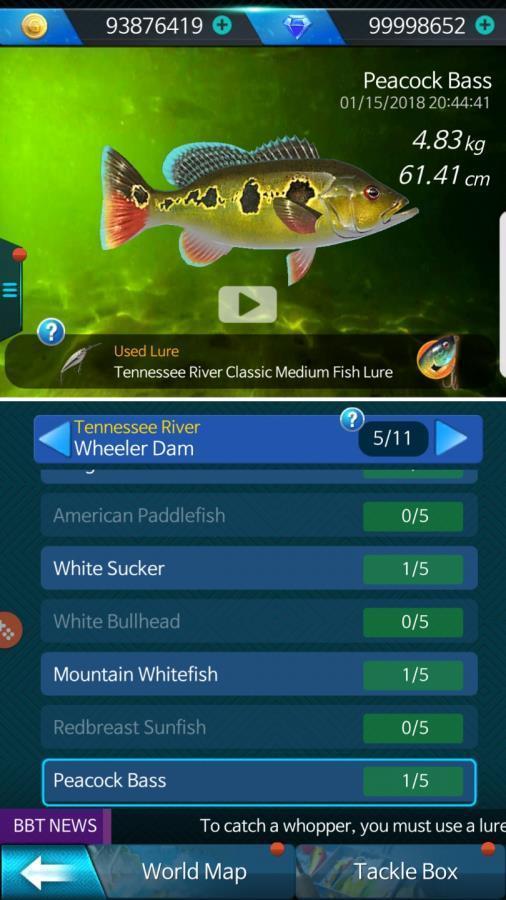 钓鱼锦标赛截图