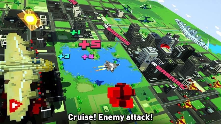 像素空战世界截图