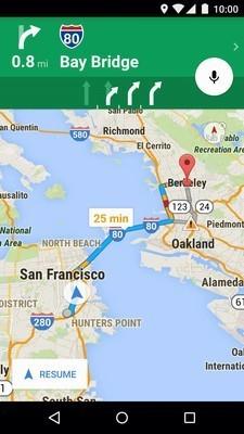 谷歌地图最新版截图