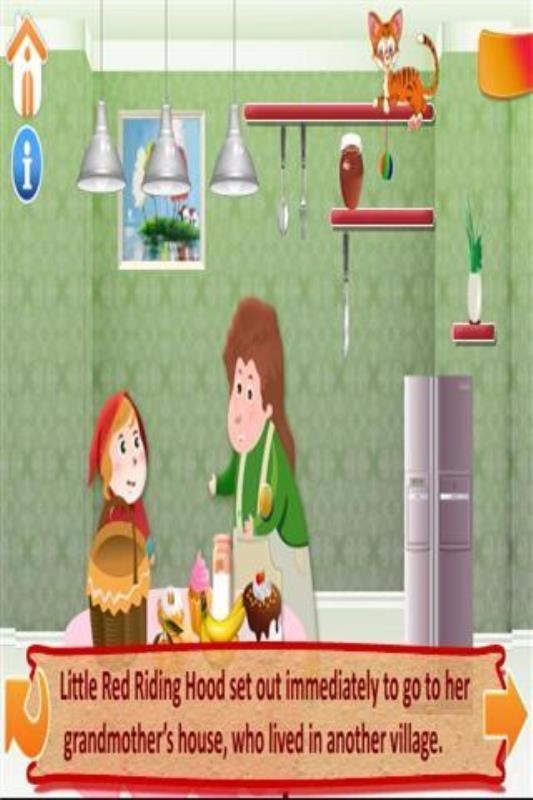 The Little Red Riding Hood截图