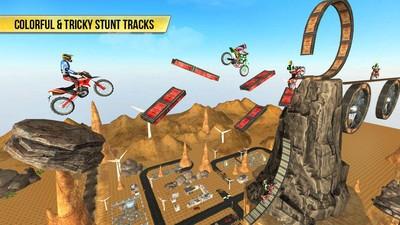 自行车特技沙漠截图