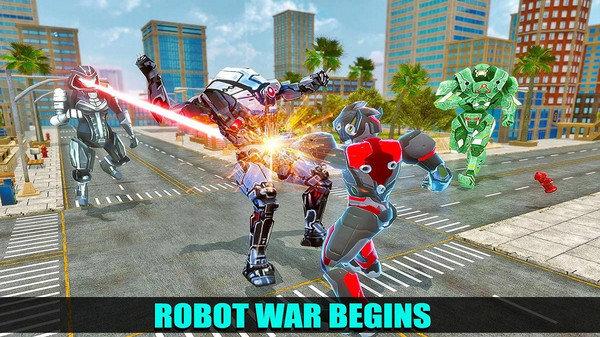 未来忍者机器人之战截图