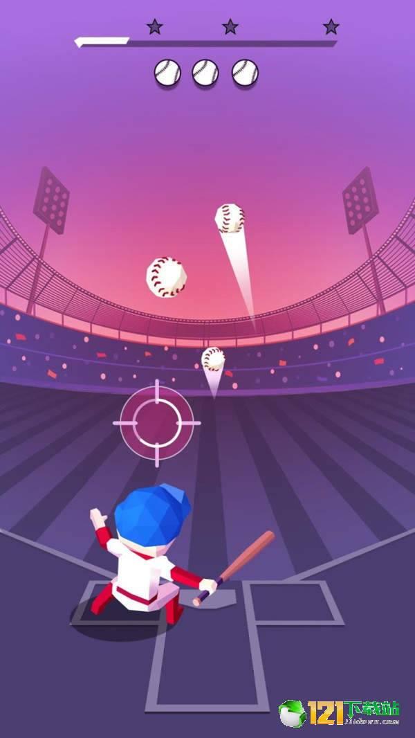 爆炸的棒球截图