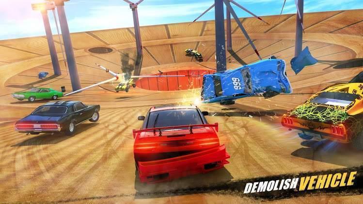 汽车粉碎竞技场截图
