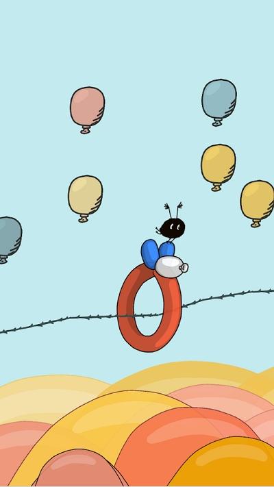 气球旅行拯救小飞虫截图