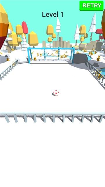 3D足球射门截图