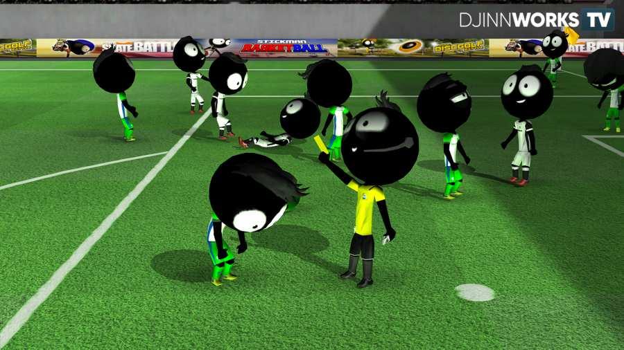 火柴人足球2018游戏截图