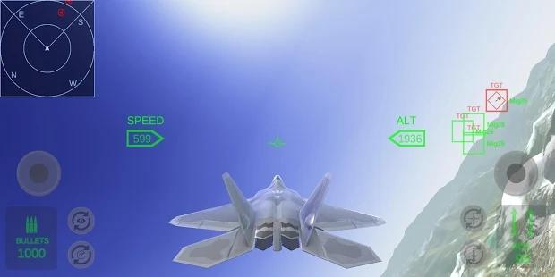 F22洛克希德空战模拟器游戏 截图