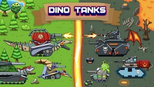 恐龙坦克中文版截图